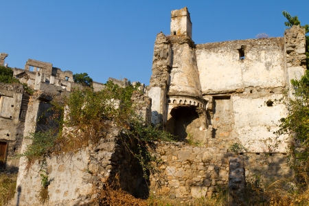 Ruins of Kayakoy, Fethiye Stock Photo - 21980848