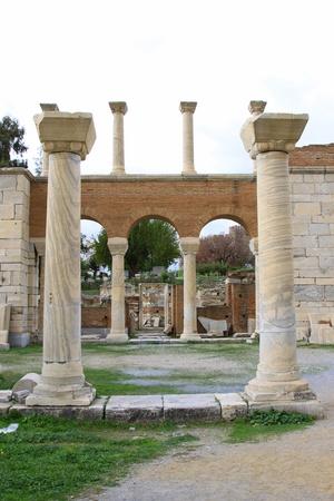 Basilica of St  John, Selcuk, Izmir, Turkey Stock Photo