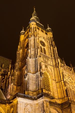 vitus: St  Vitus Cathedral, Prague, Czech Republic Stock Photo