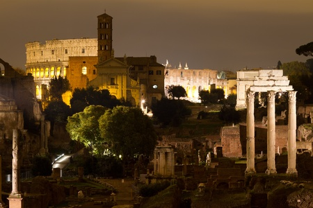 Roman Forum, Rome, Italy photo