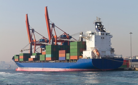 Container Ship Stock Photo - 22068559