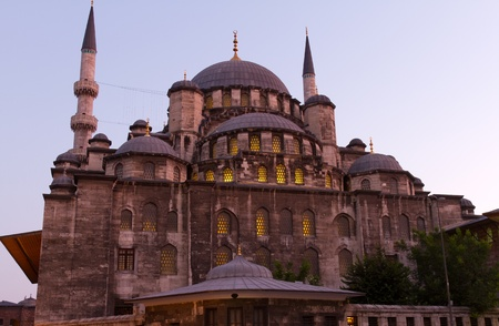 eminonu: Eminonu New Mosque