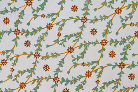 A wall painting from Topkapi Palace Stock Photo - 22113951