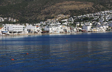 mugla: Bodrum Town, Mugla, Turkey Stock Photo