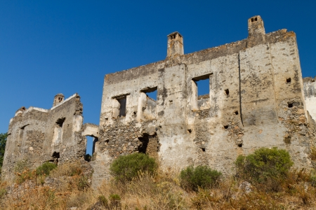 Ruins of Kayakoy, Fethiye Stock Photo - 22187274