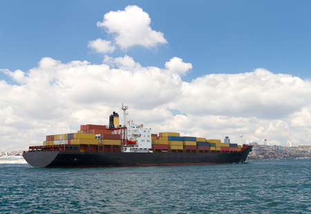Container Ship Stock Photo - 22291141