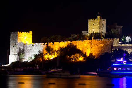 mugla: Bodrum Castle from Mugla, Turkey Editorial