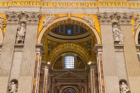 Inside of St  Peter s Basilica, Vatican City State