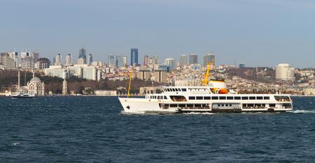 strait: Bosphorus Strait, Istanbul, Turkey Stock Photo