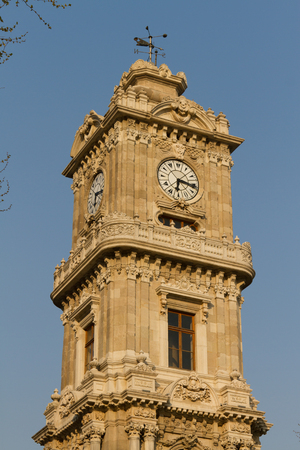 Dolmabahce Clock Tower photo