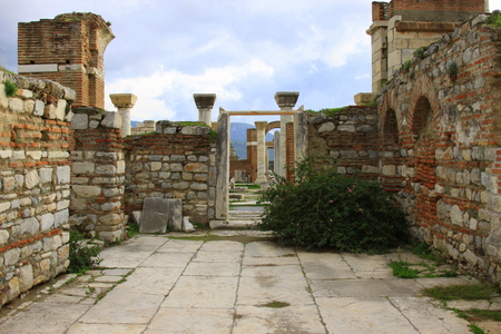 st john: Basilica of St. John, Selcuk, Izmir, Turkey
