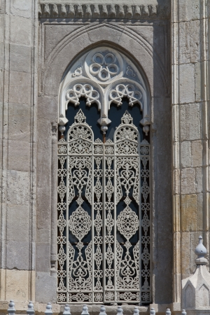 neo gothic: Pertevniyal Valide Sultan Mosque in Istanbul Stock Photo