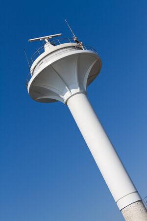 Bosphorus traffic control radar photo