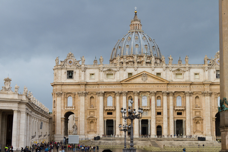 st peter s basilica: St  Peter s Basilica, Vatican City State Editorial