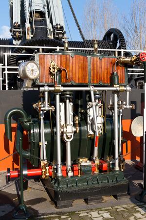 compound: Compound Steam Engine Stock Photo