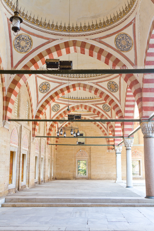 Courtyard of Selimiye Mosque, Edirne, Turkey