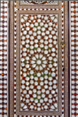 topkapi: Nacre Door from Topkapi Palace