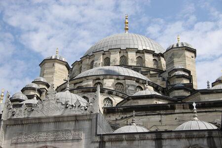 cami: Eminonu New Mosque, Istanbul, Turkey;
