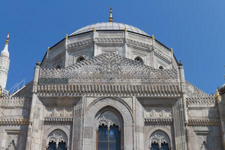 Pertevniyal Valide Sultan Mosque in Istanbul Stock Photo - 23136738