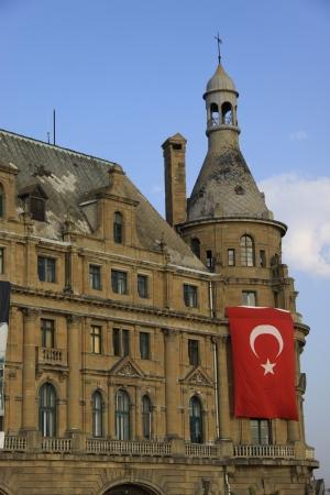 haydarpasa: Haydarpasa Train Station, Istanbul, Turkey Stock Photo