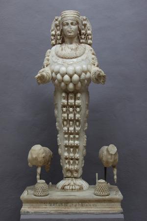 Artemis of Ephesus Stock Photo