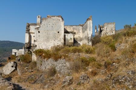 Ruins of Kayakoy, Fethiye Stock Photo - 23314782