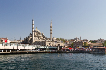 eminonu: Eminonu District and New Mosque, Istanbul, Turkey