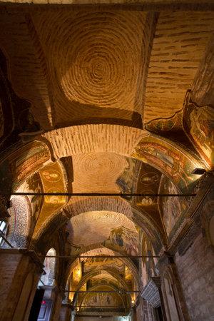chora: Chora Church in Istanbul, Turkey