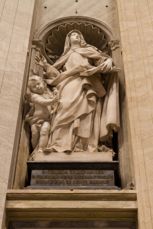 St  Teresa of Jesus, St  Peter photo