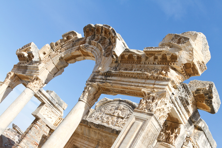 Temple of Hadrian in Ephesus, Turkey Stock Photo - 23513463