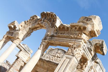 Temple of Hadrian in Ephesus, Turkey Stock Photo - 23513463