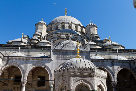 eminonu: Eminonu New Mosque, Istanbul Stock Photo