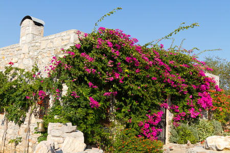 mugla: House in Old Datca, Mugla, Turkey Stock Photo