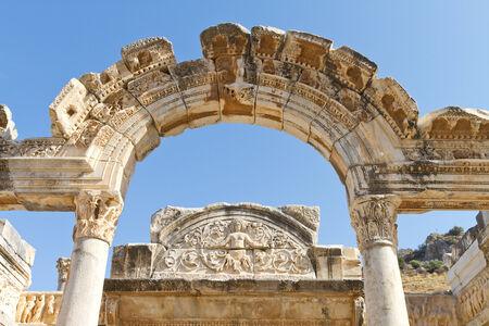 Temple of Hadrian in Ephesus, Turkey Stock Photo - 23519509