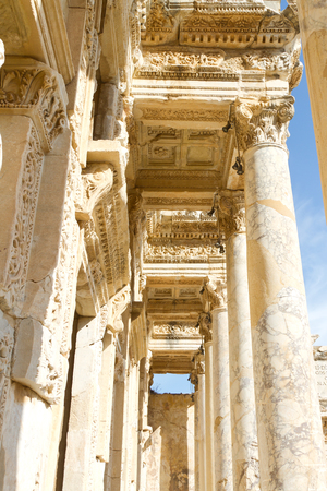 Library of Celsus in Ephesus, Turkey Stock Photo - 23520237