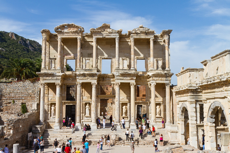 Library of Celsus in Ephesus, Turkey Stock Photo - 23503164