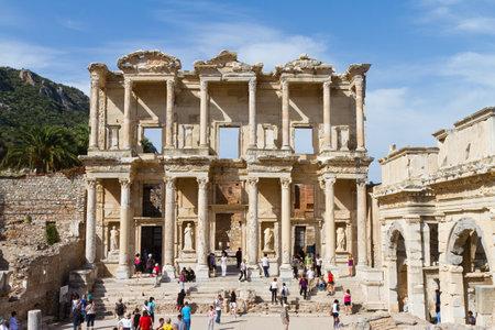 Library of Celsus in Ephesus, Turkey Stock Photo - 23503164