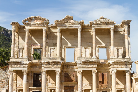 Library of Celsus in Ephesus, Turkey Stock Photo - 23654557