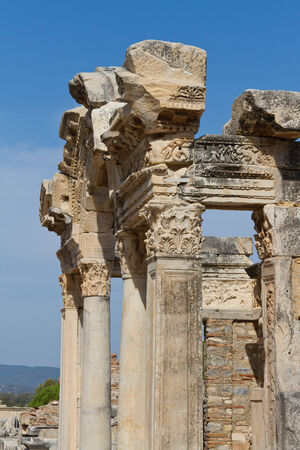 hadrian: Temple of Hadrian in Ephesus, Turkey