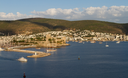 Bodrum Town and Castle in Turkey photo