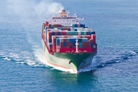 Containerschip Stockfoto - 24843636