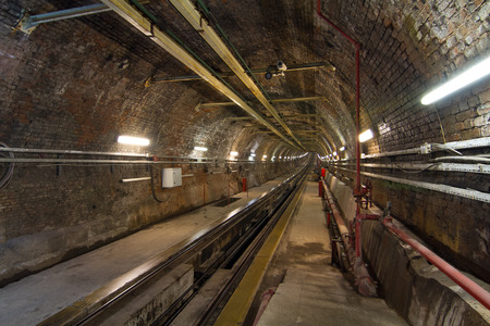 tunel: Old Tunnel Line from Karakoy to Istiklal Street, Istanbul