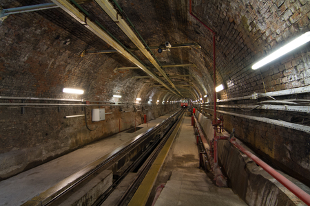 subterranean: Old Tunnel Line from Karakoy to Istiklal Street, Istanbul