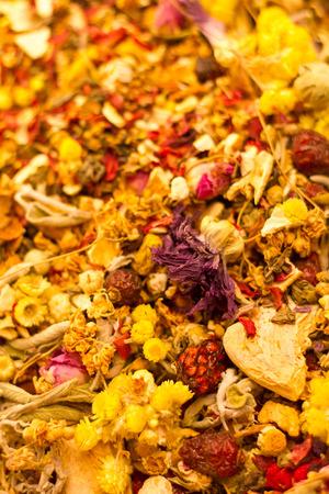 flores secas: Flores secas en Bazar de las Especias