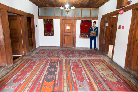 SAFRANBOLU, TURKEY - FEBRUARY 16  Museum House of Kaymakamlar in February 16, 2014 in Safranbolu, Turkey  House reflects the form of life style of Turkish society in 18th and 19th Centuries