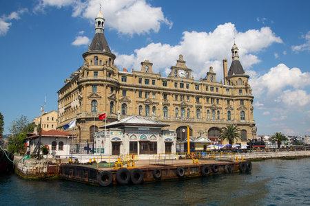 haydarpasa: Haydarpasa Train Station in Istanbul City, Turkey