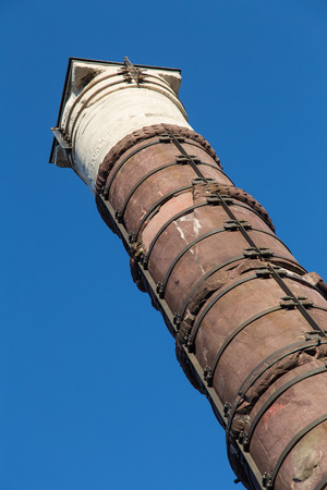 constantine: Column of Constantine in Istanbul Stock Photo