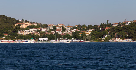 istanbul beach: Heybeliada Island in Istanbul City, Turkey