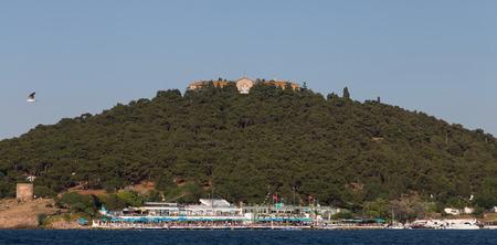 theological: Heybeliada Island in Istanbul City, Turkey
