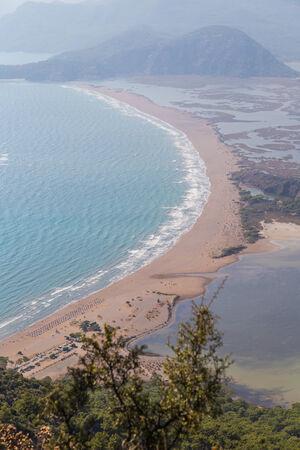 mugla: Iztuzu Beach in Aegean Coast of Turkey